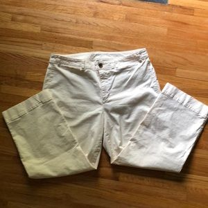 Old Navy Cream Ankle Pants